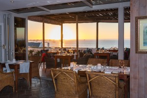 Abalone House's new deck leading from Reuben's Restaurant