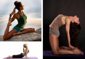 Yoga teachers Justine, Ros and Karen