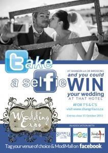 weddingselfie poster