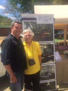 Mr Stef Venter and Mrs Toeks Erasmus at this year's Beesloop